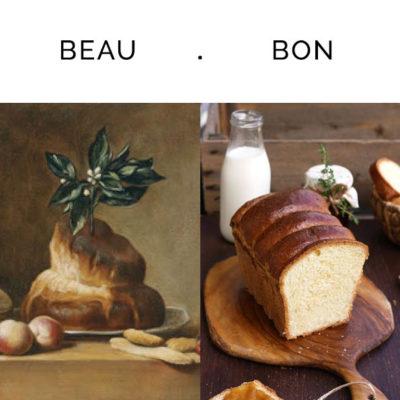Chardin, « la brioche »
